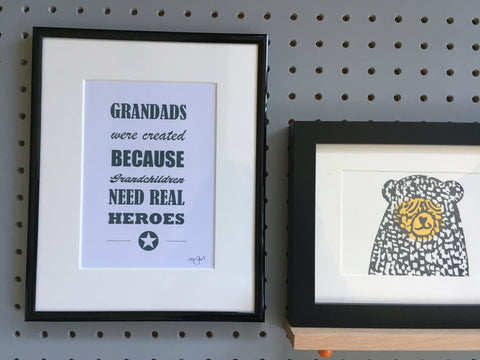 Grandads were created because Grandchildren need real heroes