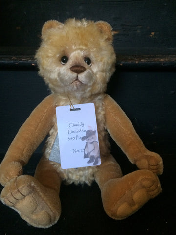 Chuddy - Limited Edition 25 of 350 - Charlie Bears Isabelle Collection
