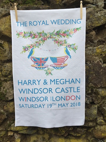 Royal Wedding Souvenir Tea Towel