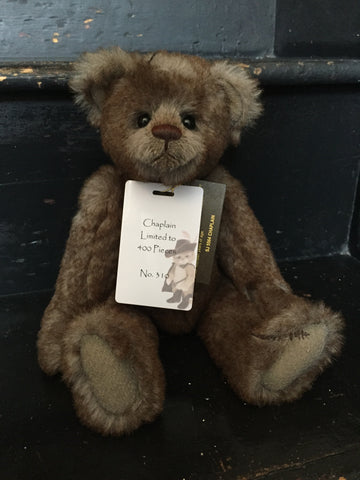 Chaplain - Limited Edition 310 of 400 - Charlie Bears Isabelle Collection