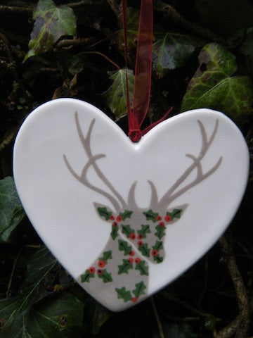 Holly Stag - Ceramic Heart