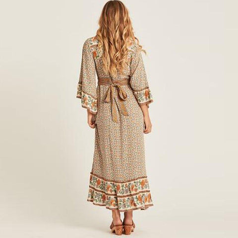 Bohemian Chic Dress Autunno 2018