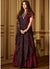 Banarasi Silk Floor Length Suit in Maroon