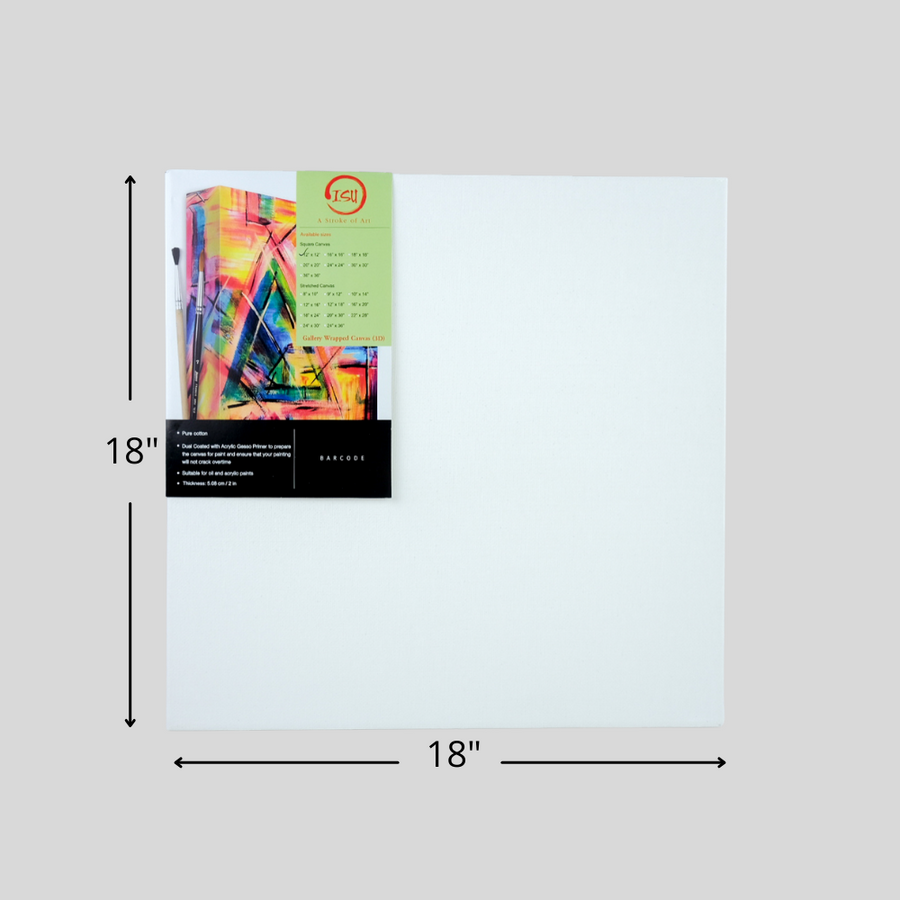 ISU Gallery Wrapped Square Canvas Board
