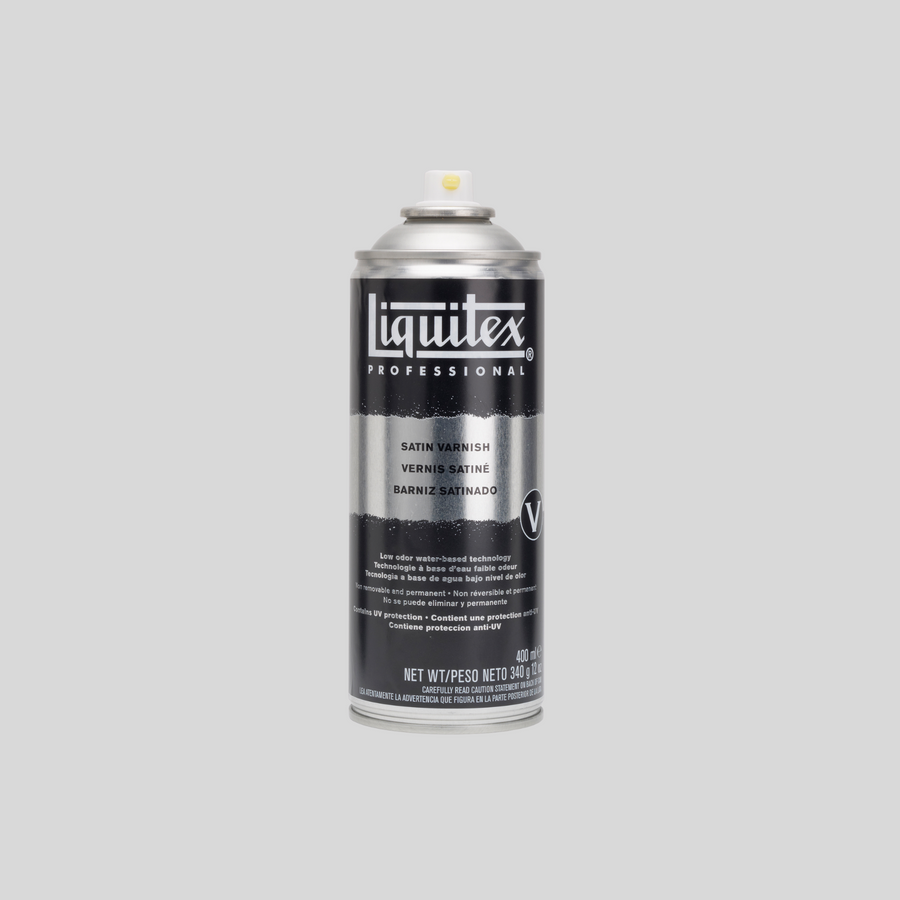 Liquitex Spray Paint Satin Varnish 400 ml
