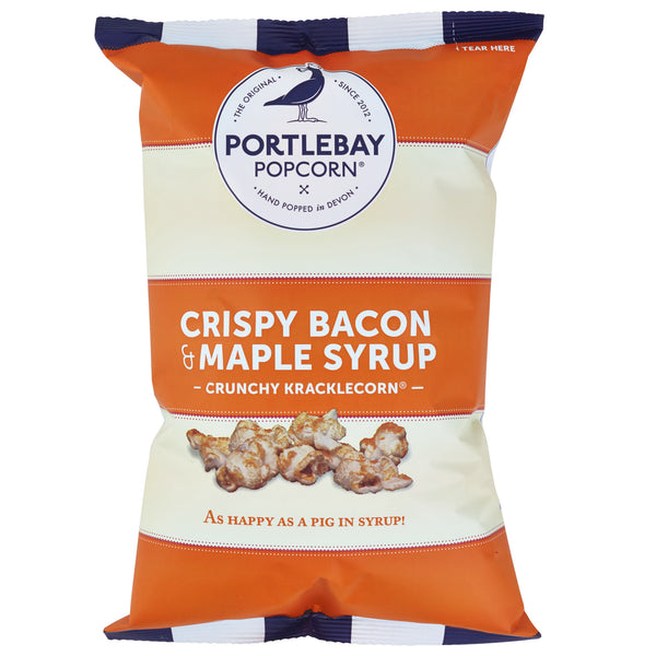 Crispy Bacon & Maple Syrup Portlebay Popcorn
