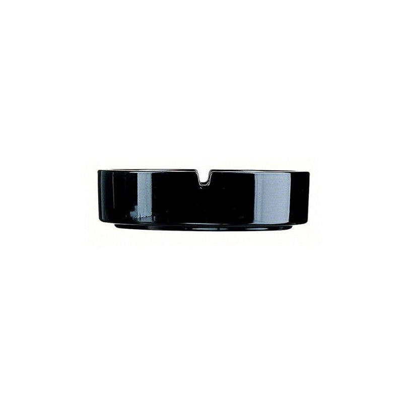 Arcoroc Empilable Ashtray Stackable Black 107mm