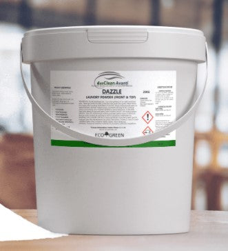 Dazzle Laundry Powder 20kg - suitable for top and front loading machines