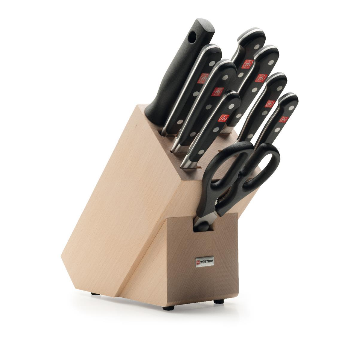 Wusthof Classic Knife Block Set 10 Piece