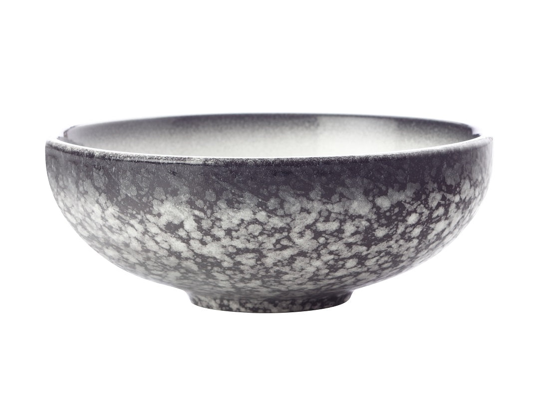Maxwell and Williams Caviar Granite Coupe Bowl 15.5x6cm