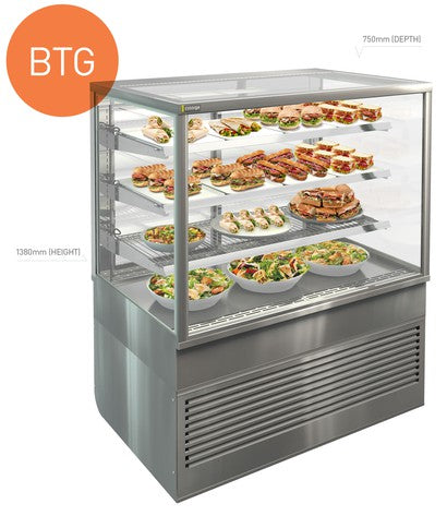 Cossiga TOWER - BTG - 1380 MM HIGH - 750MM DEEP Refrigerated 1800mm