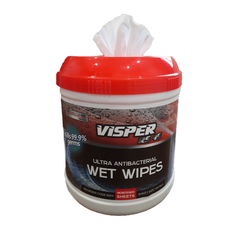 Rosche Ultra Antibacterial Wet Wipes with Cannister EACH