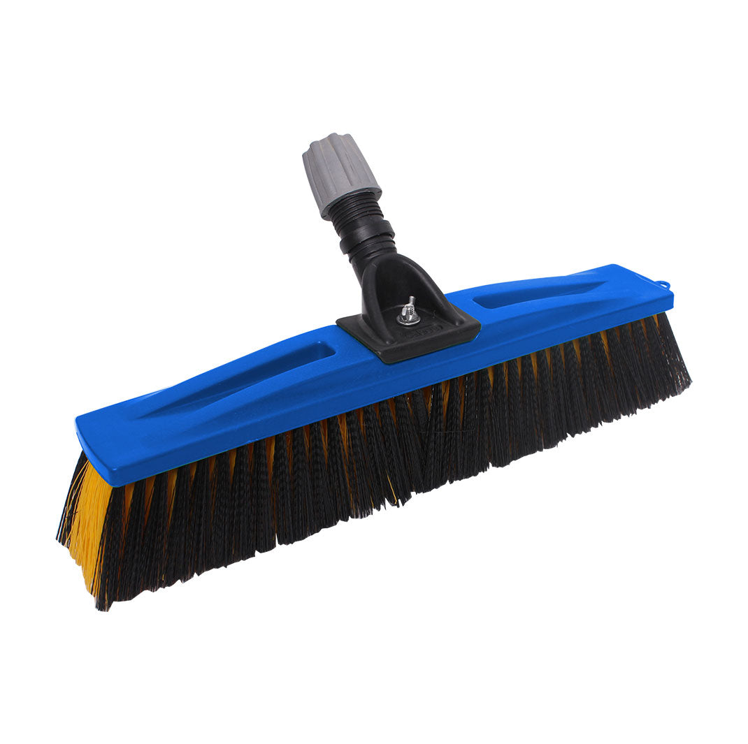Sabco 450mm Indust Broom Head Blue Smooth-Rough