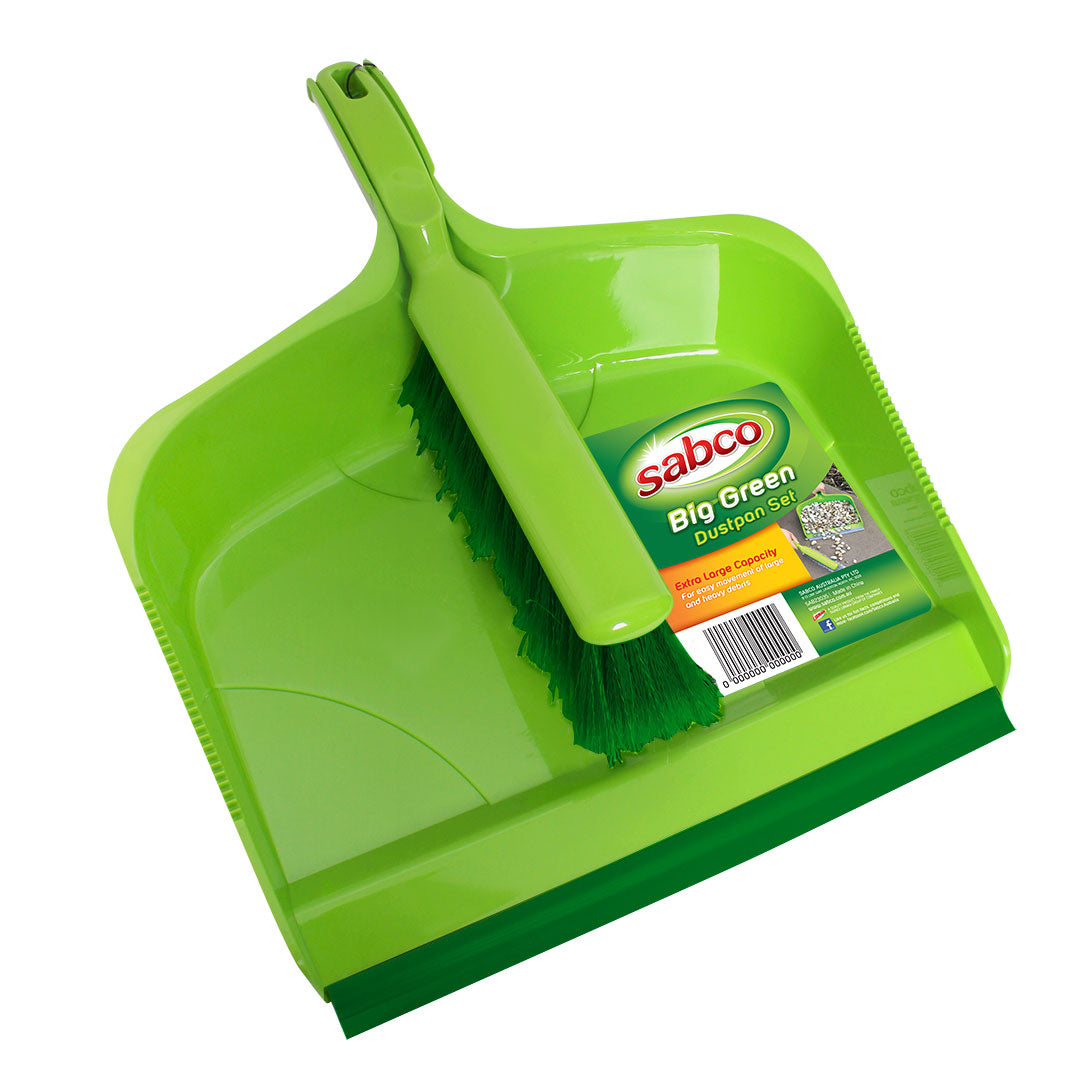 Sabco Large Dustpan Set - Big & Strong