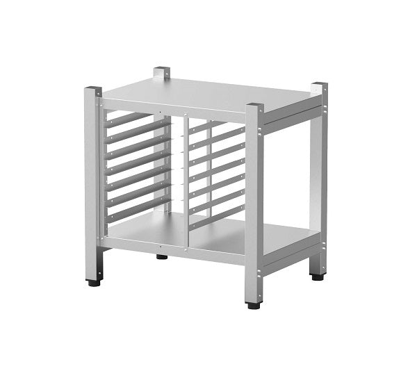 High open stand with lateral supports 732x546x752 WxDxH mm - Weight 22 Kg