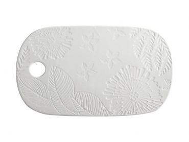 Maxwell and Williams Panama Cheese Platter 40x23cm White Gift Boxed