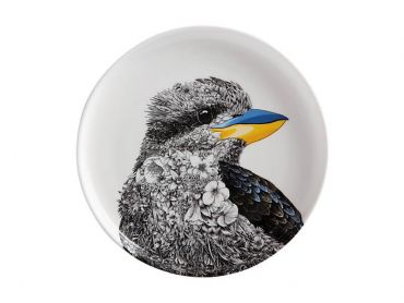 Maxwell and Williams Marini Ferlazzo Birds Plate 20cm Kookaburra Gift Boxed