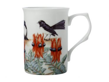 Maxwell and Williams Royal Botanic Gardens - Garden Friends Mug 300ML Willy Wag Tail Gift Boxed