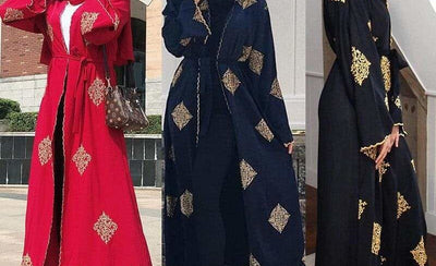 How To Wear An Open Abaya
