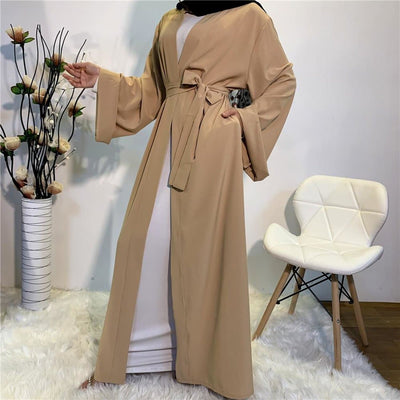 Simple Open Abaya - ArabiaBoutique