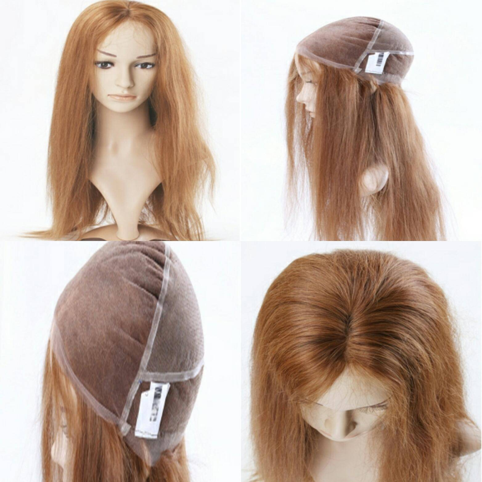 100% Human Hair Custom 18inch Lace Wig