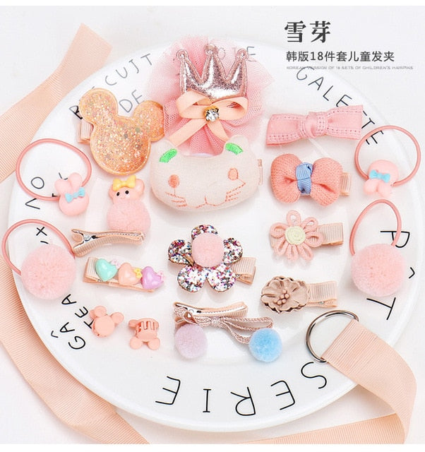 18pcs Baby Girl Headband