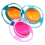 360 Rotate Spill-Proof Universal Baby Bowl