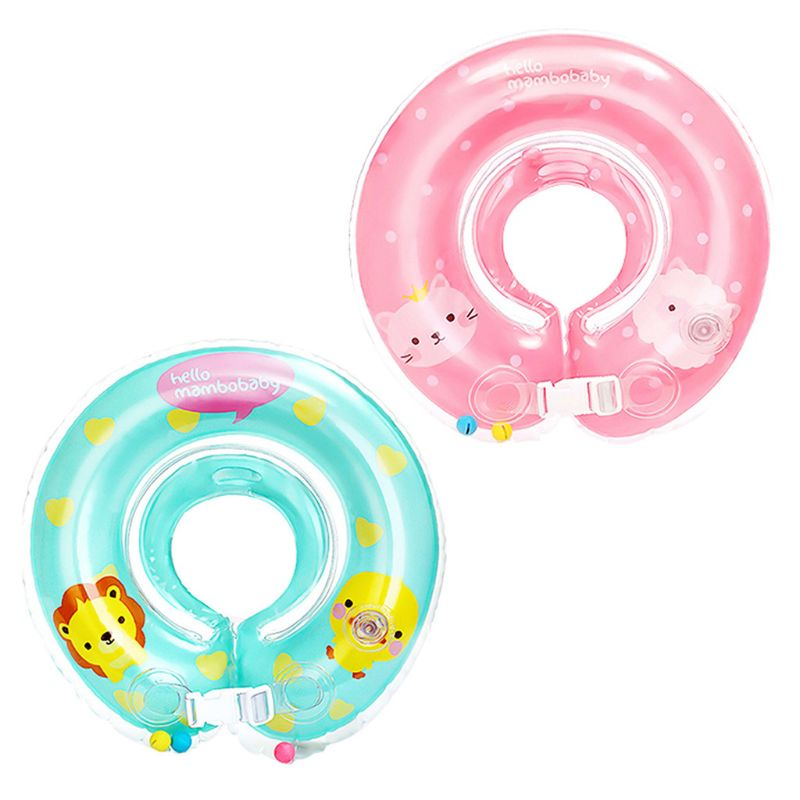 Baby Neck Float Ring Safety Inflatable Swimming Neck Circle Bathing Accesories 95AE