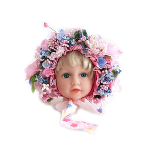 Flowers Florals Newborn Hat