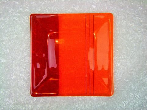 Orange & Red Dish