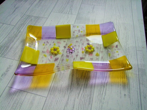 Lavender & Lemon Dish with Confetti