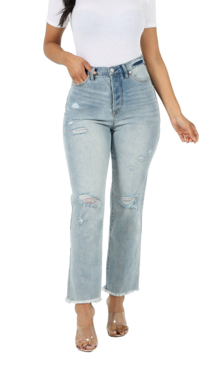 The Jane high rise mom jeans