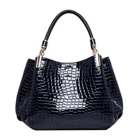 Women Leather Handbags Luxury Ladies Hand Bags Purse Fashion Shoulder Bags Bolsa Sac Crocodile