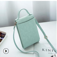 Women Casual Wallet Brand Cell Phone Wallet Big Card Holders Wallet Handbag Purse Clutch Messenger Shoulder Straps Bag