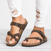 Women Sandals Rome Style Summer Sandals Flip Flops Plus Size 35 43 Flat Sandals Beach Summer Zapatos Mujer Casual Shoes
