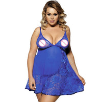 Lingerie Nightgown Sexy Women Underwear with G-string Fitness Lace Babydoll Dress Plus Size Sexy Lingerie