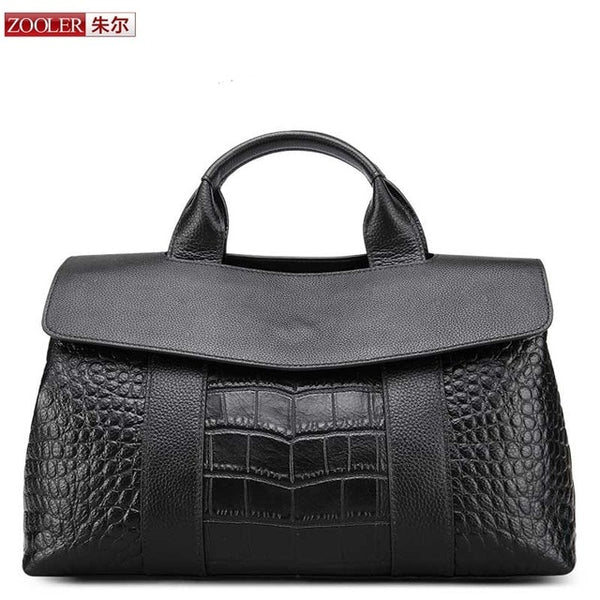 Genuine leather bag ZOOLER luxury handbags women bags designer cow leather bag bolsa feminina