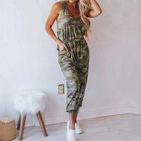 Plus Size L-3XL Summer Sexy Off Shoulder Short Sleeve Jumpsuits Solid Casual Slim Overalls For Women Long Romper Female Mujer