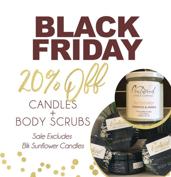 Black Friday Candle Sale