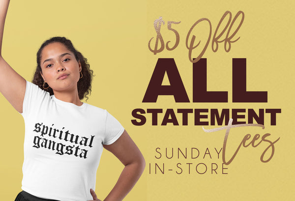 Statement Tees Special