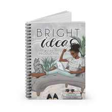 Load image into Gallery viewer, Bright Ideas Productivity Journal/Notebook