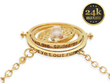 24K Gold Plated Harry Potter Time Turner Necklace