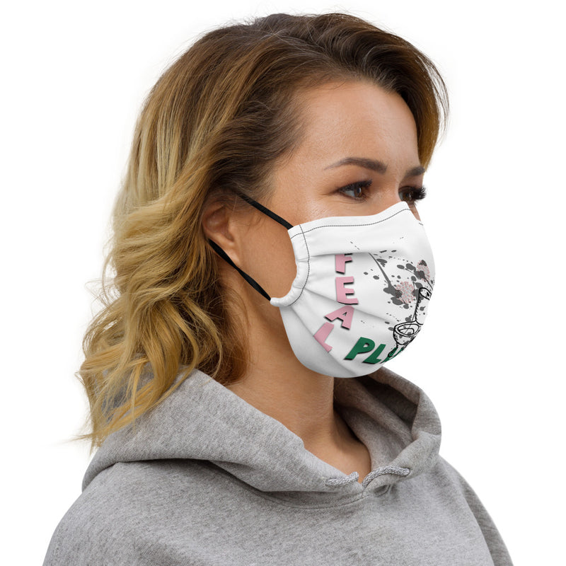 Fecal Plume Face Mask