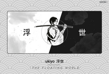 Load image into Gallery viewer, Ukiyo - 浮世 Deskmat