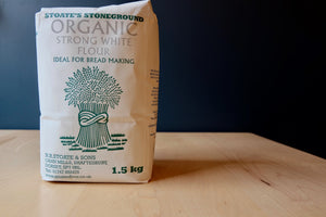 Stoate's Stoneground Organic Strong White Flour