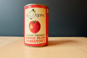 Mr Organic Whole Plum Tomatoes