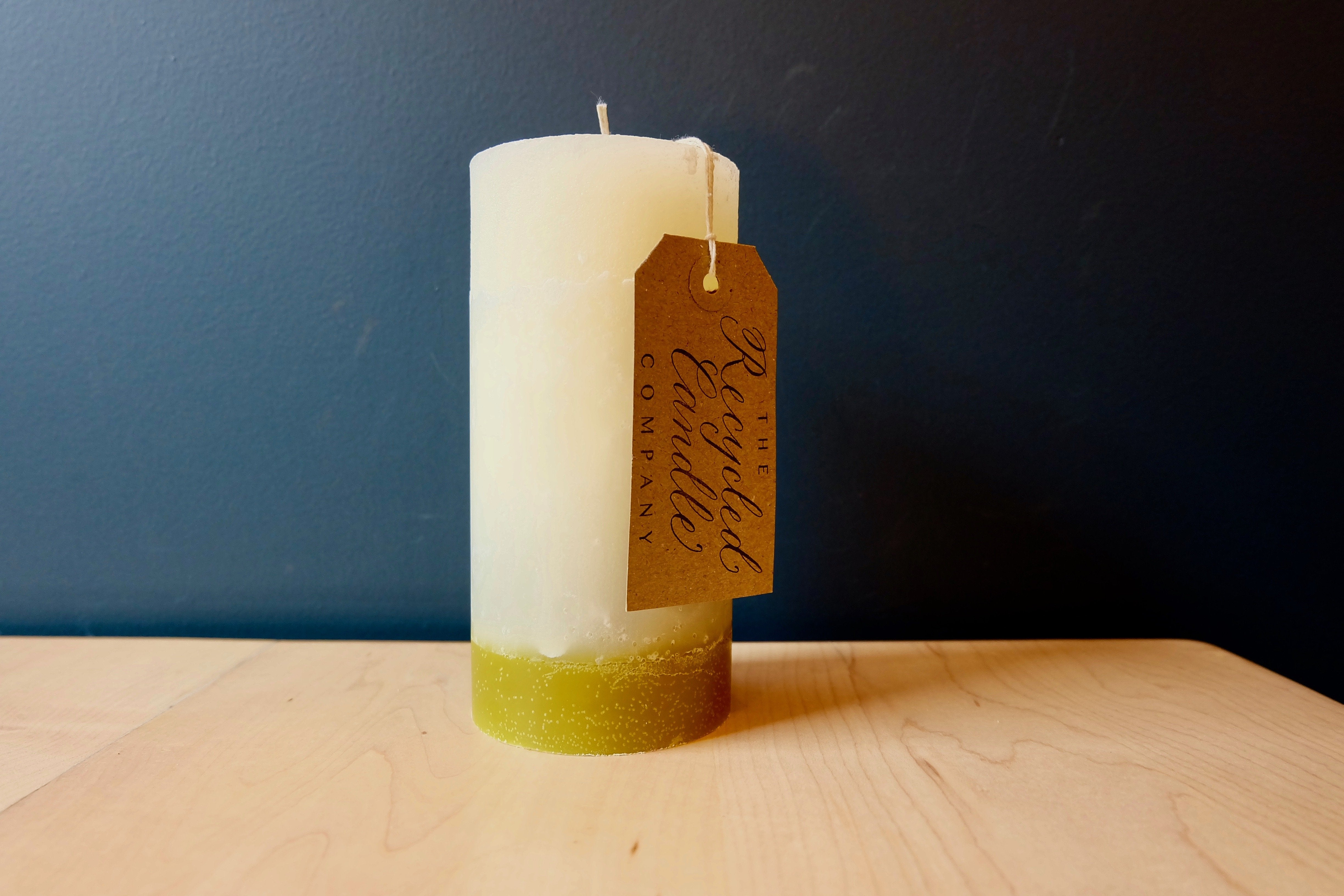 The Recycled Candle Co. Theology Pilar