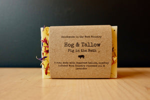 Hog & Tallow Pig In The Bath Soap