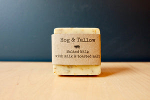 Hog & Tallow Malted Milk Soap