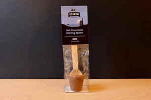 Kernow Hot Chocolate Stirring Spoon (Milk Chocolate)
